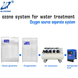 Large Industrial Ozone Generator for Wastewater