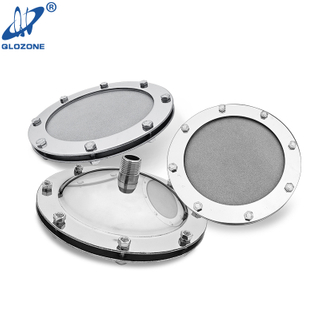 Nano Titanium Flat Type Diffuser for Fish Pond 125 mm